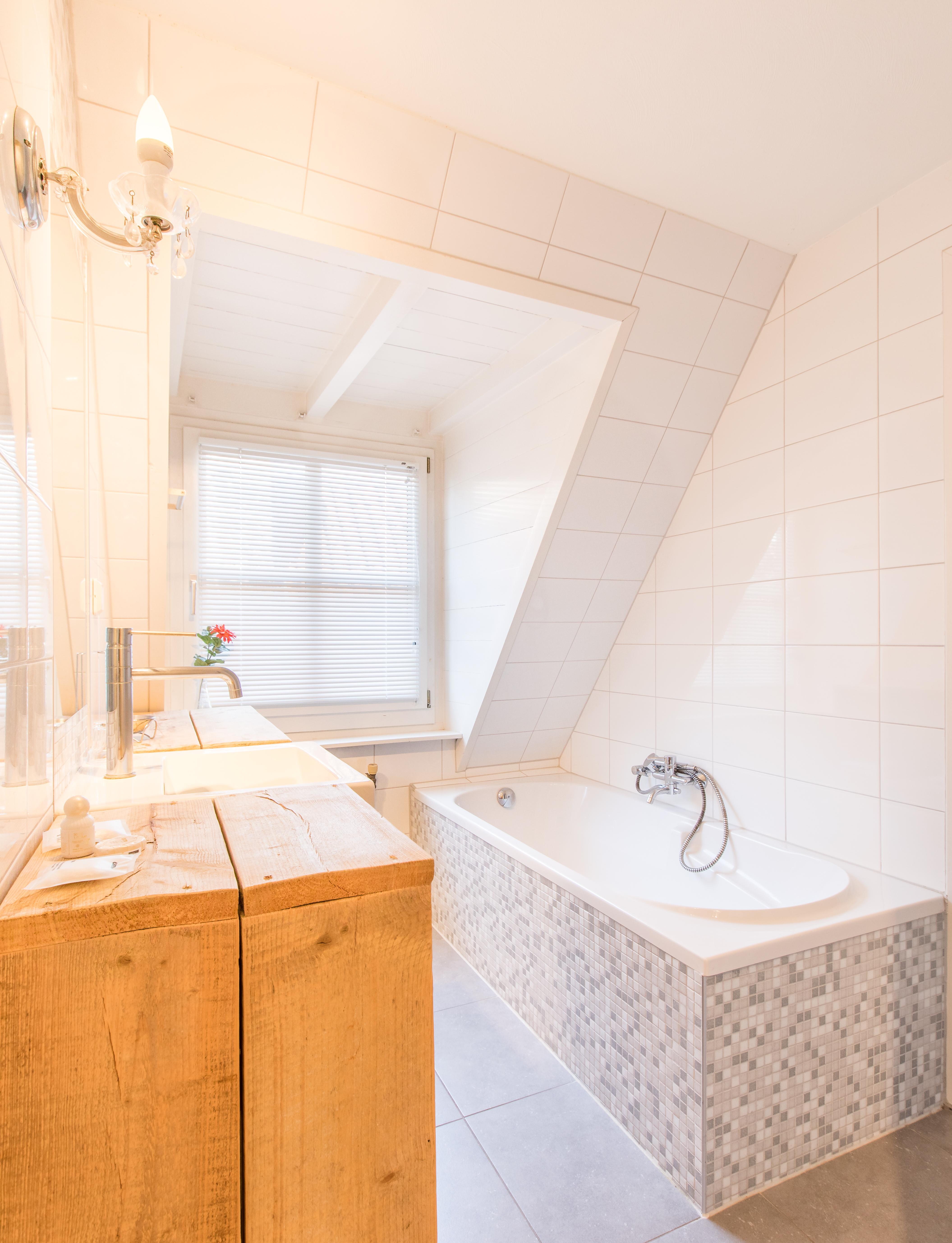 Luxe IJssel Penthouse, badkamer