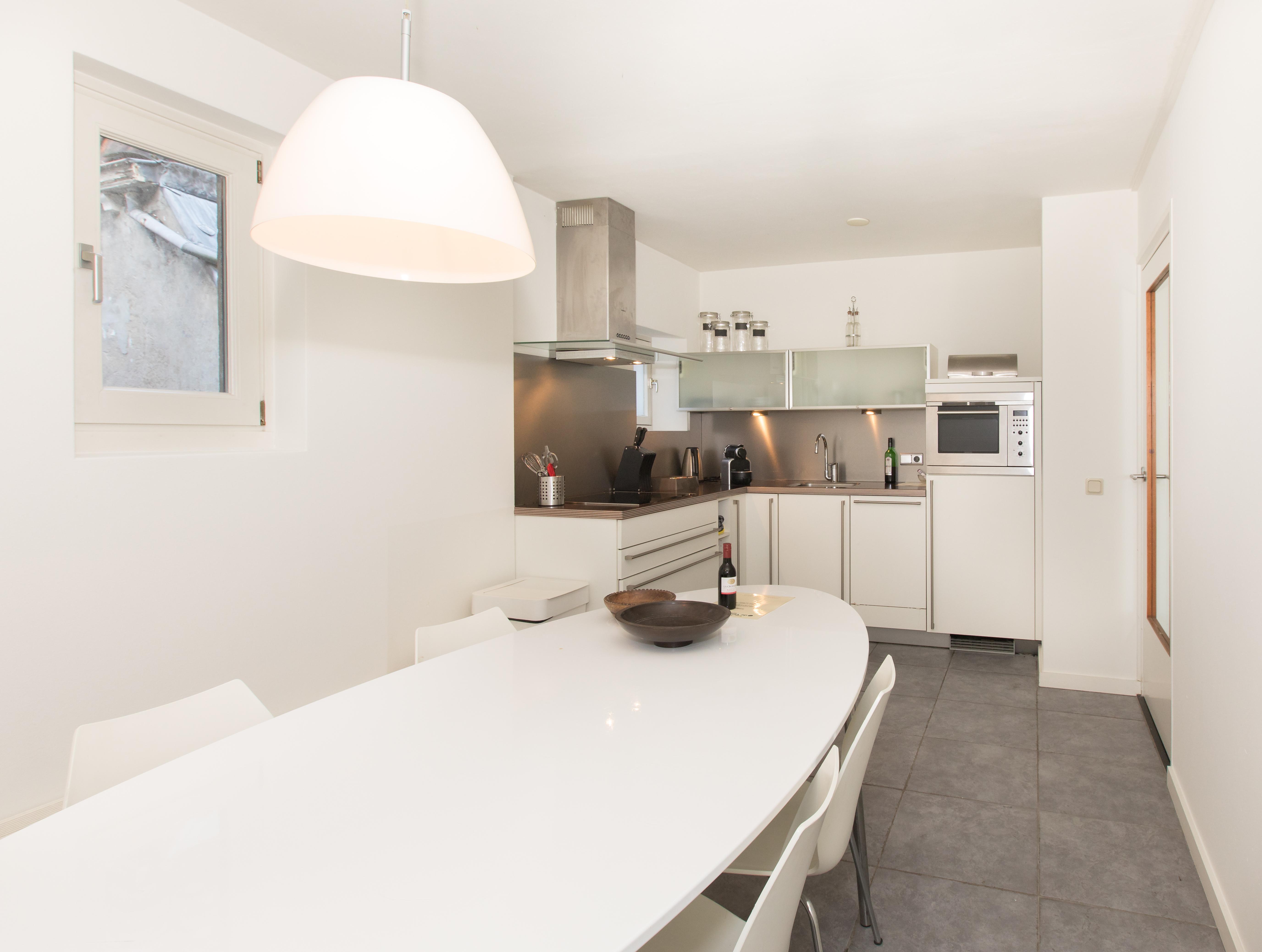 Luxe IJssel Suite, keuken