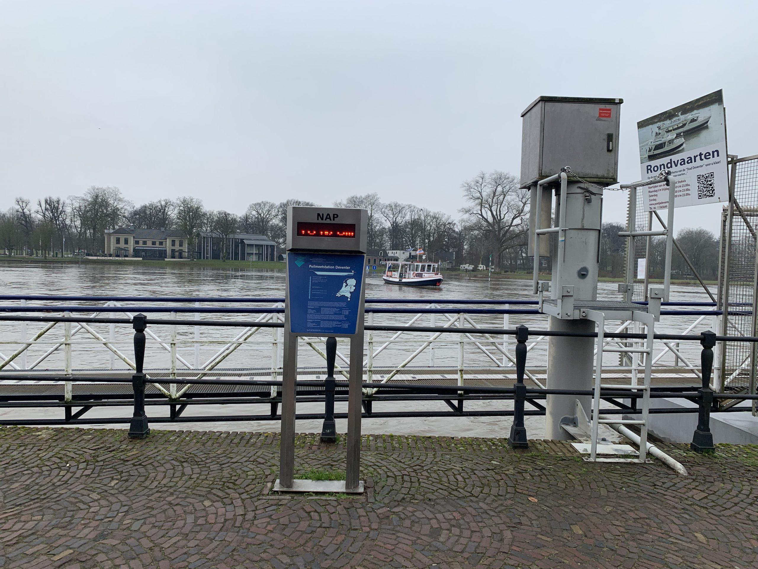 Hoog water IJssel